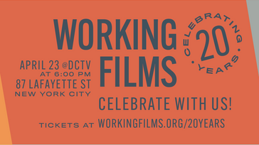 Working Films 20th Anniversary Event