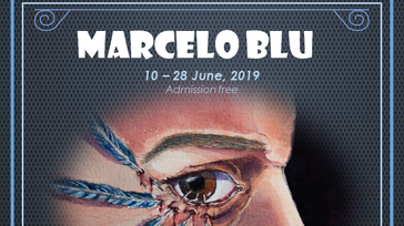 Marcelo Blu Art Exhibition