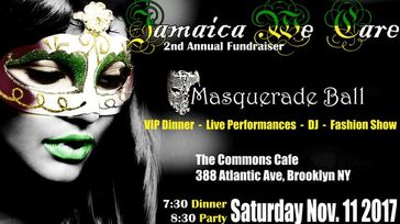 Charity Masquerade Ball & Fashion Show for Jamaica We Care, Inc