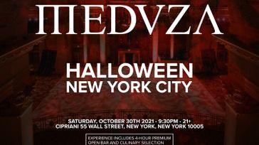 MEDUZA at Cipriani Wall Street - Halloween 2021