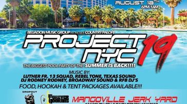 Project 19 NYC Pool Party & Concert