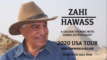 A golden evening with Zahi Hawass