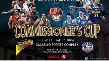 PBA Commissioners Cup - NLEX  vs SMB - JUNE23,2018