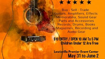 Lewisville Guitar and Gear Swap