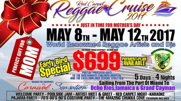 The Red Carpet Reggae Cruise