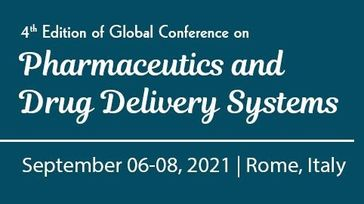 4th Edition of Global conference on Pharmaceutics and Drug Delivery Systems