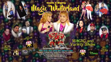 Cecile & Mighty MAGIC Winterland