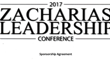2017 Zacharias Leadership Conference