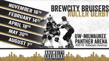 Brewcity Bruisers Roller Derby 2/14/20