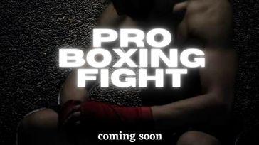 Pro Boxing Fight