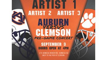 Clemson v. Auburn Pregame Concert