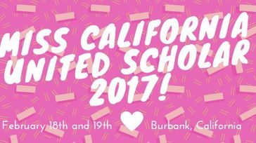 Miss California United Scholar