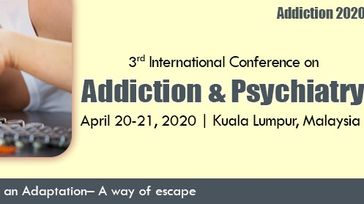 3rd International Conference on Addiction and Psychiatry
