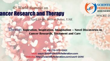 6th World Summit on Cancer Research and Therapy