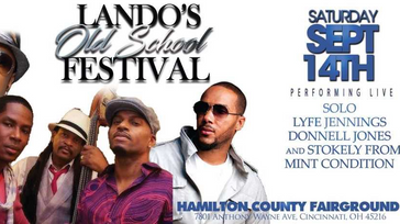 Landos old school Music festival