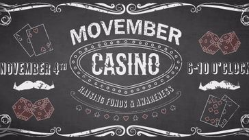 2017 Movember Casino & Games Night