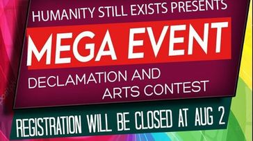 Mega Declamation & Art Contest by H.S.E.