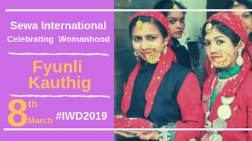 Fyunli Kauthig (International Women's Day 2019)