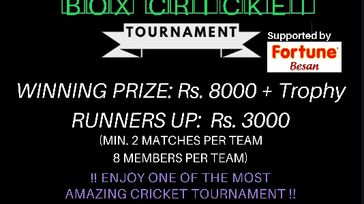 Box Cricket Tournament