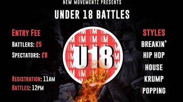 New Movements Under 18's Dance Battles