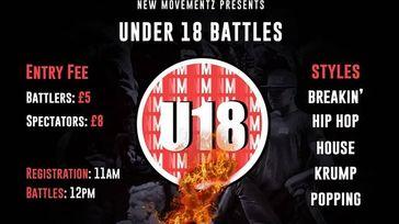 New Movements Under 18's Dance Battles