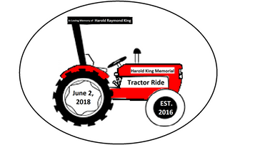 3rd Annual Harold King Memorial Tractor Ride
