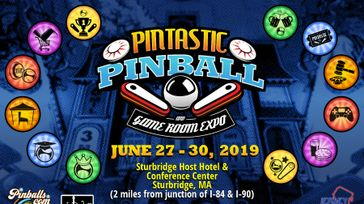 Pintastic Pinball & Game room Expo