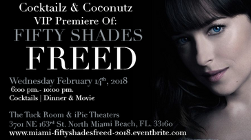 Fifty Shades Freed hosted by Cocktailz & Coconutz