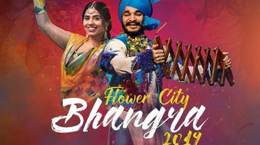 Flower City Bhangra Comeptition
