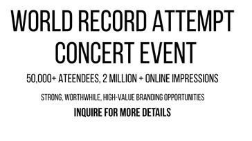 World Record Attempt - Musical Event