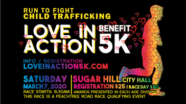 Love in Action Benefit 5k and Fun Run