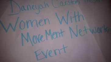 Women With MoveMent Networking Event