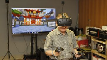 Virtual Reality for Seniors Charity Competition