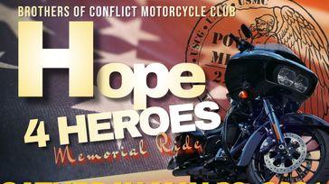 HOPE 4 HEROES MEMORIAL RIDE