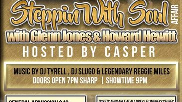 steppin with soul  with Glenn Jones  Howard Hewitt