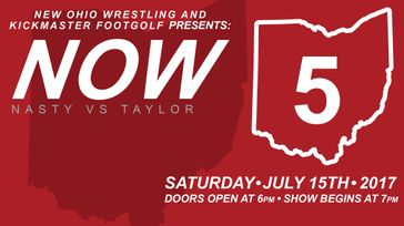 New Ohio Wrestling Presents NOW 5: Nasty vs Taylor