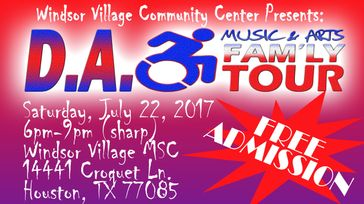 Differently Abled Music & Arts Fam'ly Tour