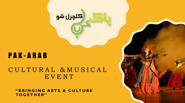 Pak-Arab cultural and musical event