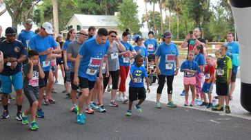 Autism Awareness 5K Bubble Run & Children's Dash & Silent Auction