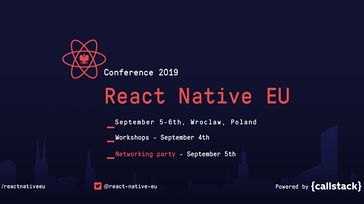 React Native EU 2019