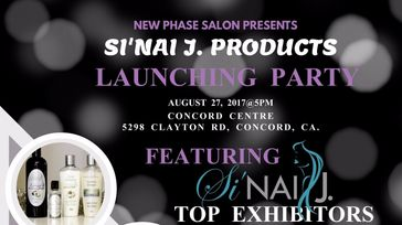 Si'Nai J Products Launching Party