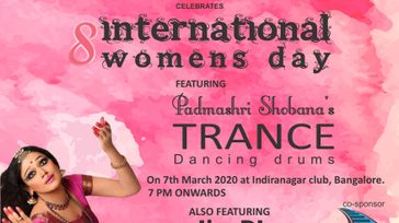 INTERNATIONAL WOMEN'S DAY BY PADMASHRI SHOBANA