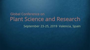 Global Conference on Plant Science and Research