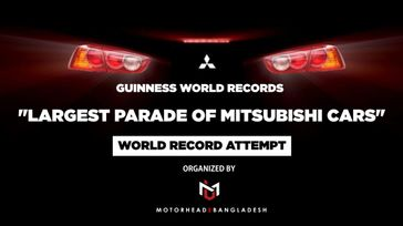 Largest Car Parade -  World Record Attempt