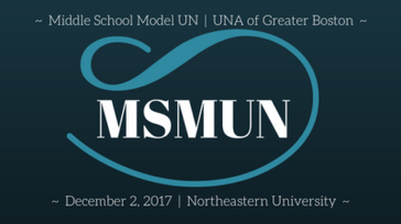 2017 Middle School Model UN Conference (MSMUN)