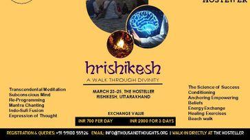 Hrishikesh- A Walk through Divinity