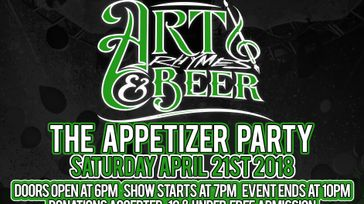 Art, Rhymes & Beer Presents The Appetizer Party