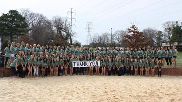 Kappa Delta Shamrock Philanthropy Event
