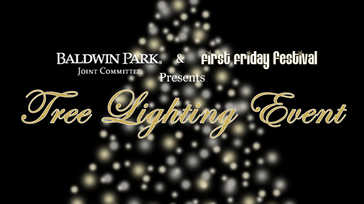 Baldwin Park Tree Lighting Event