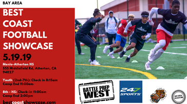 Best Coast Youth + HS Football Showcase
